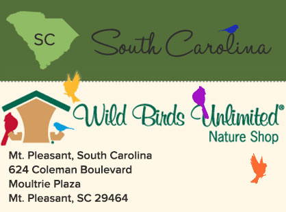 Wild Birds Unlimited | South Carolina